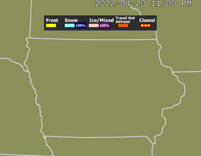 Iowa Road Conditions