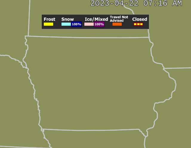 Iowa Road Conditions