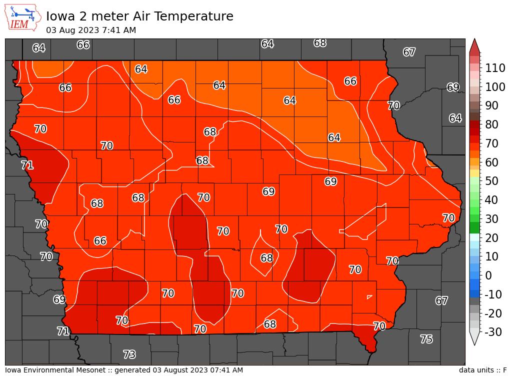 Iowa StormAlert Map