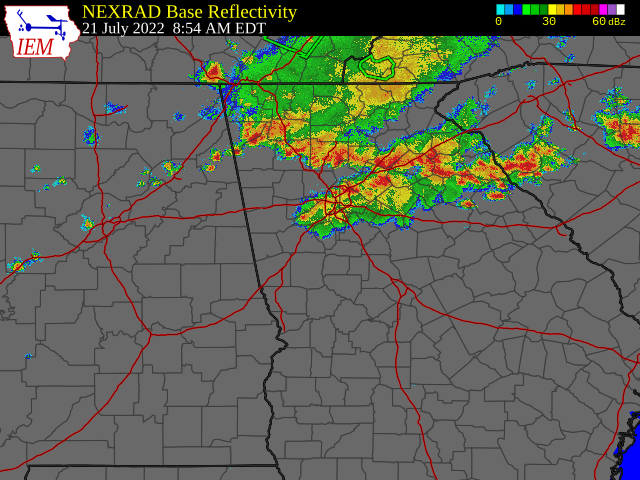 Atlanta HD GRLEVEL3 Radar