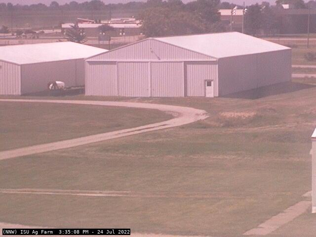 Camera image from Ames (ISU Ag Farm)