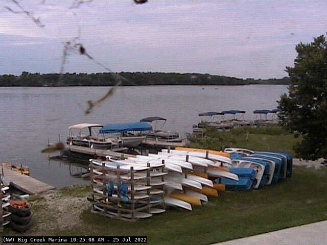 Camera image from Polk City (Big Creek Marina)
