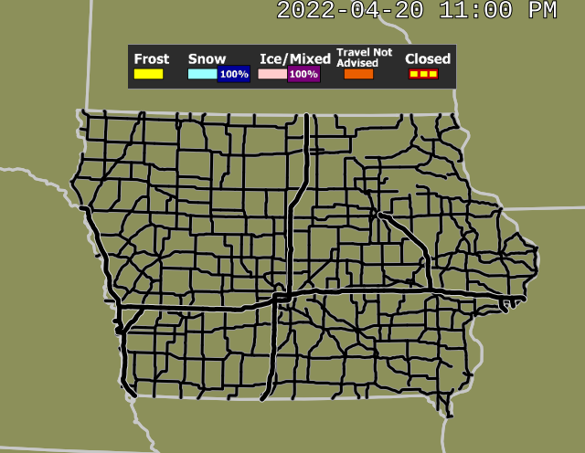 IEM :: Winter Road Conditions